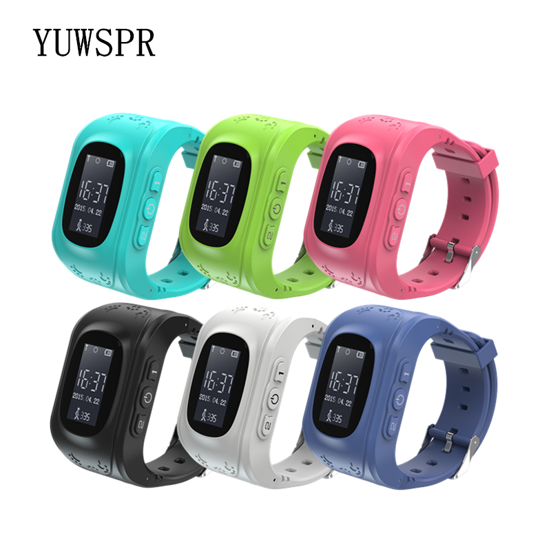 Q50 Kids GPS Tracker Watch Anti Lost SOS GPS Positioning IOS & Android SIM Card Baby Smart Cell Phone Watch Children Clock Q50
