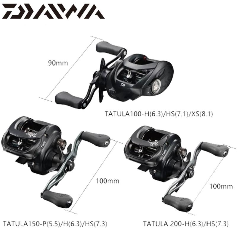 Daiwa Tatula Baitcasting Reel 19 Tatula Baitcasting Fishing Reel 100//150//200