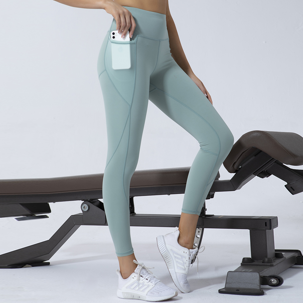 Fitness High Waist Legging Tummy Control Seamless Energy Gymwear Workout Running Activewear Yoga Pant Hip Lifting Trainning Wear 3
