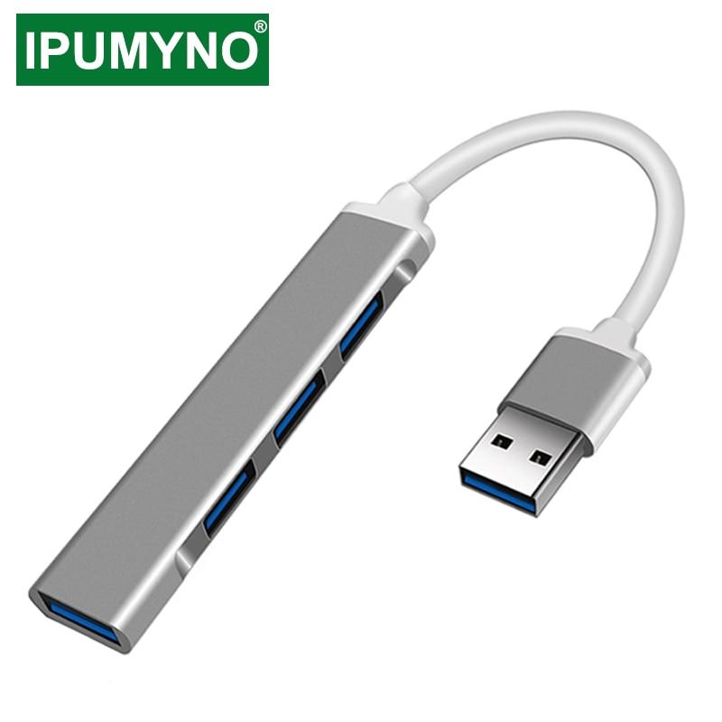 HUB USB C 3.0 Type C 3.1, adaptateur de répartiteur 4 ports OTG pour Lenovo Xiaomi Macbook Pro 13 15 Air Pro, accessoires d'ordinateur
