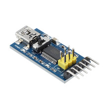 1pc Basic Breakout Board for arduino FTDI FT232RL USB To TTL Serial IC Adapter Converter Module for arduino 3.3V 5V FT232 Switch