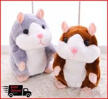 Cheeky – animal de compagnie Hamster parlant, jouet doux, son mignon, cadeau de noël pour enfant, haute qualité
