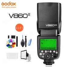 Godox V860II S V860II C 860II N, V860II F, GN60, TTL, HSS, batería de ion de litio, Flash Speedlite para Sony, Nikon, Canon, Olympus, Fuji