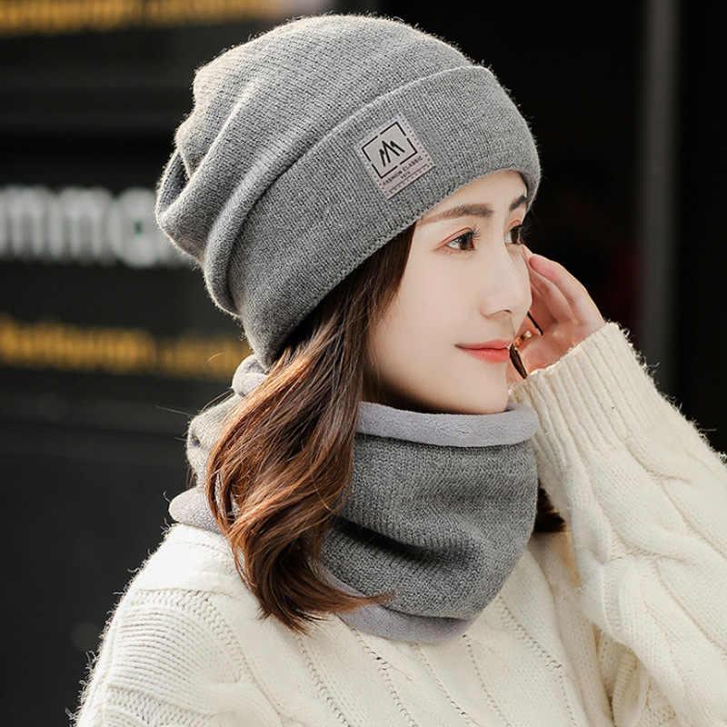 Tixiyu Thick Warm Hat Women Furry Warm Artificial Lamb Wool Cap Winter Headgear