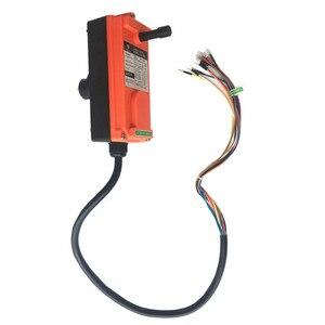 Image 5 - 무료 배송 F21 E1B 산업용 원격 제어 스위치 6 8 버튼 Uting 호이스트 크레인에 대한 무선 라디오