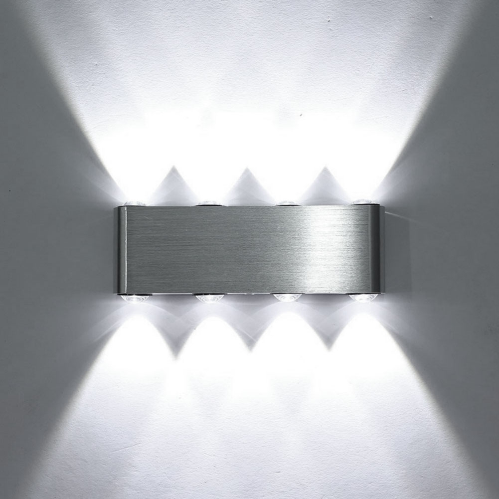 Modern Led Wall Lamp 2W 4W 6W 8W Wall Sconces Indoor Stair Light Fixture Bedside Loft Living Room Up Down Home Hallway Lampada