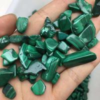 Malaquita cascalho granel caiu pedras cura de cristal 100g