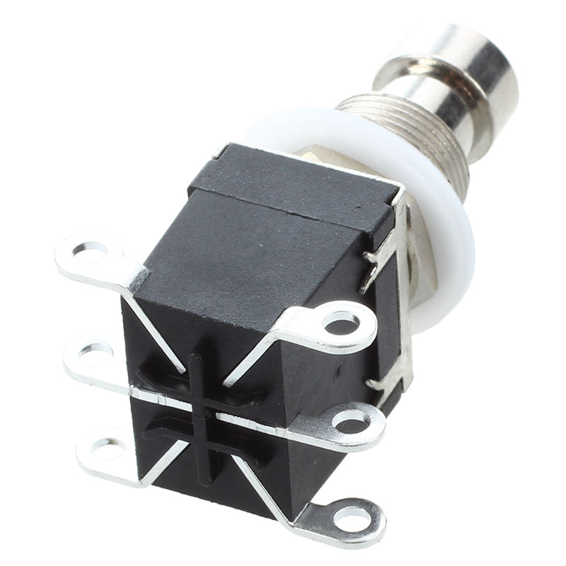 New 6Pins DPDT Momentary Stomp Foot Switch for Guitar AC 250V/2A 125V/4A image
