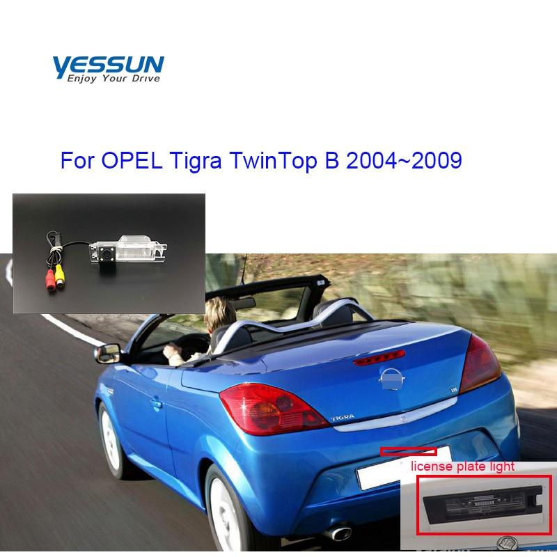 Car Rear View Brackup HD Camera For OPEL Tigra TwinTop B 2004 2005 2006 2007 2008 2009 Parking Camera/license Plate Camera