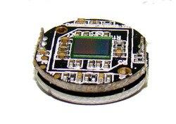 Módulo de cámara de vigilancia montado en el coche de corrección ojo de pez cámara de automóvil 360 Sistema de placa de vídeo de marcha atrás panorámica