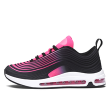 New Unisex Air Cushion 97 Running Shoes Women Breathable Slo