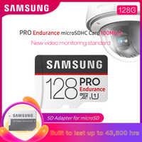 SAMSUNG Microsd 32GB Micro SD Card 64GB Class 10 128GB PRO Endurance High Quality C10 UHS-1 Trans Flash Memory Card With Adapter