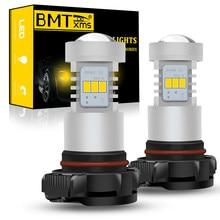 BMTxms Canbus No Error H16 5202 PS19W PSY24W para AUDI A3 8P Sportback 2008-2013-LED DRL luces de circulación diurna blanco 1500LM