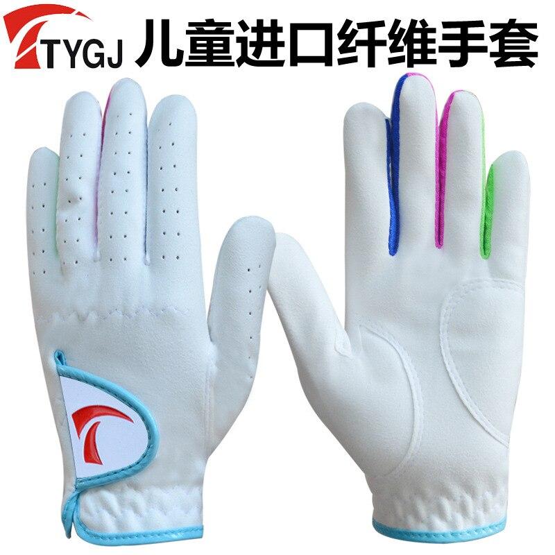 Ttygj Children Golf Gloves Men And Women Children A Pair Golf CHILDREN'S Gloves A Pair