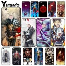Yinuoda FullMetal Alchemist Japanese Anime Phone Case for Huawei Y5 II Y6II Y5 Y6 Y7Prime Y9 2018 2019(China)