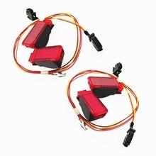 Car Red Door Panel Warning Lights Safety Indication Signal Lamp Cable Wire For A3 A4 B8 S4 A5 A6 S6 A7 A8 Q3 Q5 TT RS3 8KD947411 цена и фото