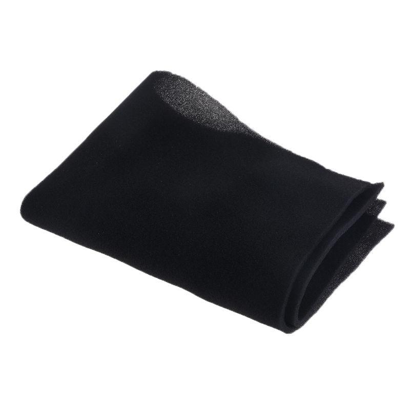 500x400x3/5MM DIY Computer Dust Filter Mesh PC Case Fan Cooler Dustproof Cover Sponge 60PPI Black