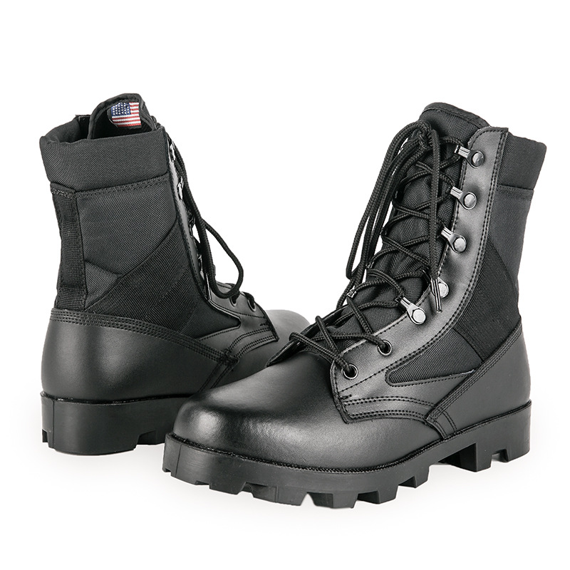 A Wave Combat Boots Desert Boots Hight-top Outdoor Tactical Boots Special Forces 07 Combat Boots Training Combat Boots