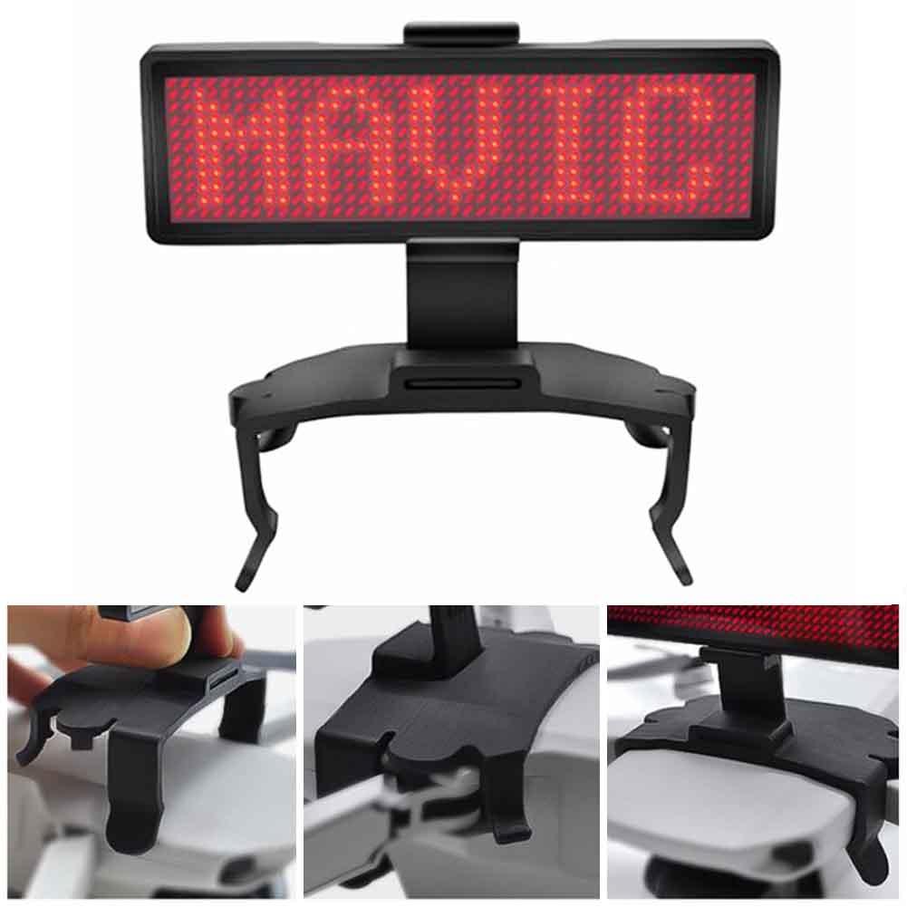 graphic-led-display-screen-advertising-font-b-drone-b-font-accessory-drop-resistance-portable-board-bracket-lightweight-diy-for-font-b-dji-b-font-mavic-mini