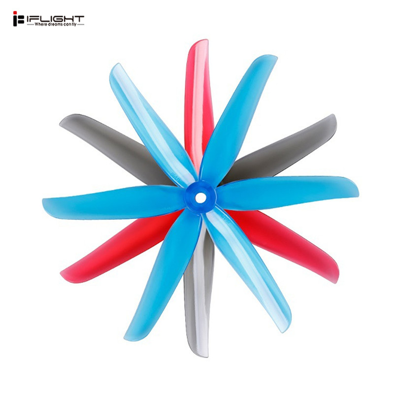 6/12 Pairs iFlight NAZGUL 5140 5Inch Prop 3-Blade Propeller For FPV Racing RC Drone Multirotor RC Parts Quadcopter Multirotor