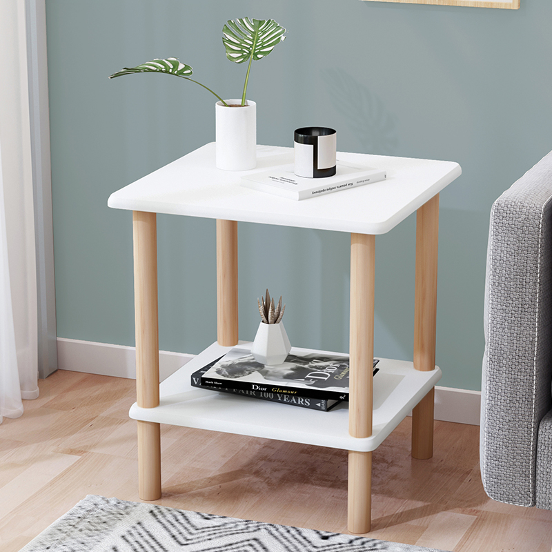Sofa Side Nordic Small Coffee Table Modern Minimalist Small Square Small Table Table Bedroom Bedside Table Bedside Cabinet