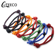 CUTEECO Fashion Bracelet Jewelry Concentric Couples Nylon Rope Chain Paracord Male Wrist Bands