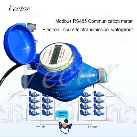 Medidor de Água Ip68 à Prova Inteligente Remoto Eletrônico Modbus 188 Protocolo Rs485 Comunicação Dip68 Água –