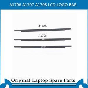 Original novo a1706 a1707a1708 lcd moldura da tela frente logotipo capa de vidro para macbook pro retina 13 15 15 logo logotipo moldura 2016-2017