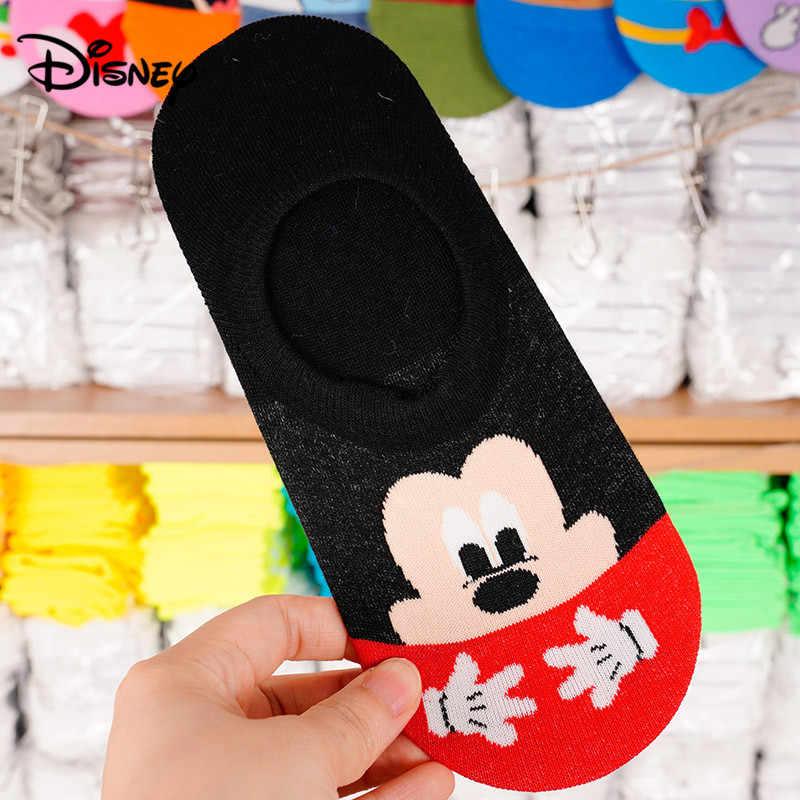 Meias Boca Rasa Do Mickey Donald Unisex Para Adultos De Desenhos Animados Barco Meias Aliexpress