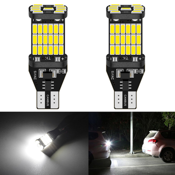 2x Canbus T15 W16W T16 Led Car Backup Reserve Lights Bulb for BMW E46 E90 E60 E36 X5 E53 E70 F30 E61 E39 F20 F10 X5 E53 E87 X3 image