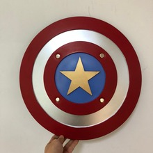 Justice Round Shield 1:1 Cosplay Weapon Prop Superhero Movie Role Play Halloween Decoration Gift American Super Hero Weapon