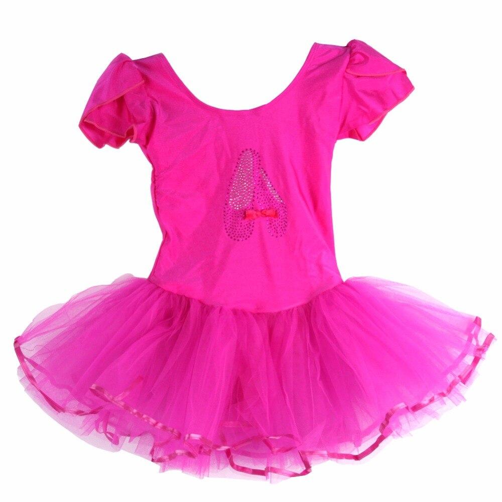 Children Dance Tulle Dress Girl Ballet Dress Fitness Clothing Performance Wear Costume Girl Ballet Dresses