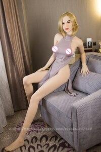 Image 5 - חדש 168cm טאן עור מציאותי מוצק מין בובות גדול שד, יפני למבוגרים אהבת בובת נרתיק Pussy בובה אמיתית סקסית מוצר עבור גברים
