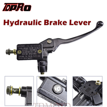 TDPRO 22mm Handlebar Front Right Hydraulic Brake Master Cylinder Lever For 50cc 70cc 90cc 110cc 125CC ATV Quad Dirt Pit Pro Bike 125cc 600cc motorcycle hydraulic brake clutch master cylinder levers for sport bike street bike scooter dirt bike with 22mm