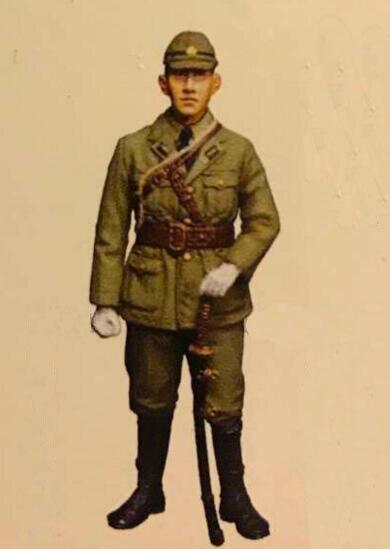 1/35 Resin Figure Japanese Marine Corps Officer 1pc Model Kits
