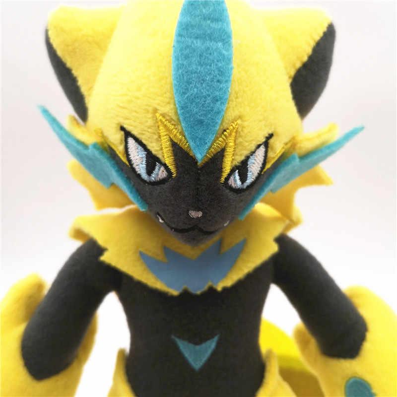 Pokemon Go Pocket Monster Sun Moon Lost Thunder Zeraoraตุ๊กตาตุ๊กตาตุ๊กตาตุ๊กตาตุ๊กตาตุ๊กตาตุ๊กตาการ์ตูนของเล่นคริสต์มาสของขวัญเด็ก