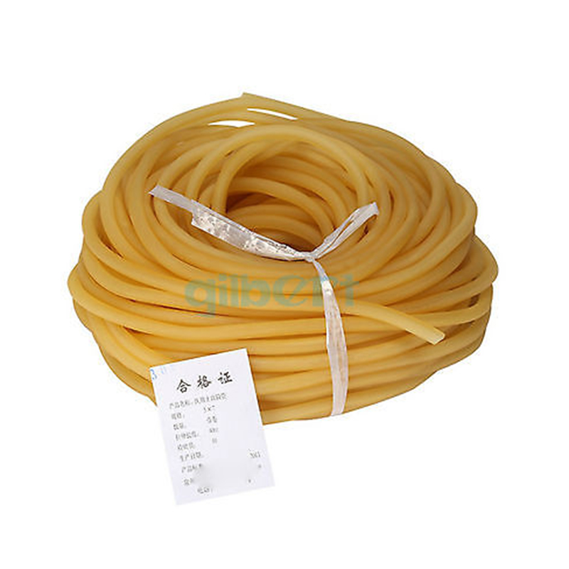 1M 4x6 5x7 5x10 6x9 8x12 9x12mm Elastic Natural Latex Rubber Band Tube For Hunting Slingshot Catapult