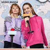 Vero Moda/Новинка; Женская Свободная Толстовка с буквенным принтом и манжетами из 100% хлопка; 319333522
