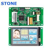 RS232/ RS485/ TTL/ USB 포트 산업용 HMI TFT LCD 디스플레이 3.5 인치 모든 마이크로 컨트롤러 지원