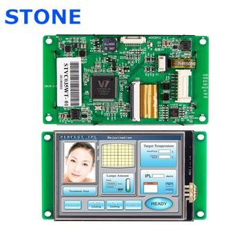 RS232/ RS485/ TTL/ USB Port Industrial HMI TFT LCD Display 3.5 inch Support Any Microcontroller rs232 rs485 ttl uart 4 3 intelligent tft lcd panel for pic arm any microcontroller