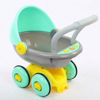 Baby Walker Toys Multifuctional Toddler Trolley Musical Walker Toddler Four-wheeled Anti-rollover Learning Walking Toy Car a generation of fat baby stroller toy car stroller walker walker toys for children