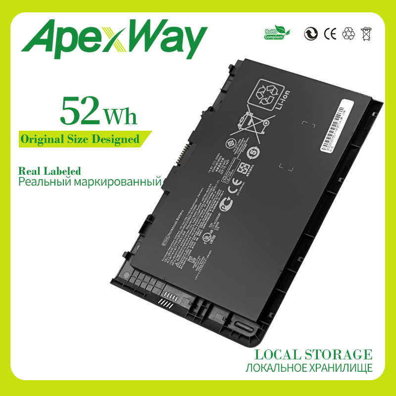 Apexway  14.8v Laptop Battery For HP EliteBook Folio 9470/9470m Ultrabook Series HSTNN-DB3Z IB3Z I10C BT04 BT04XL BA06