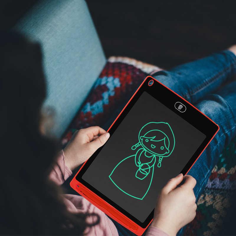 Sunany Lcd Writing Tablet 8.5 ''Pollici Tavolo Da Disegno Elettronico Tabellone per scrittura Scrittura A Mano ultra-sottile Tasto di Cancellazione di Bordo con la penna