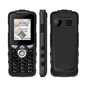 Image 3 - Unlocked 2G GSM Push Button Key Cellphone Feature Mobile Phone  Led Flashlight Dual SIM Card Senior Kids Mini Phone UNIWA W2026