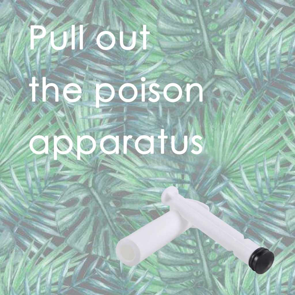 Outdoor Emergency Vacuüm Extractor Pomp Neuszuiger Muggenbeet Outdoor Pipet Snake En Bug Beten Veiligheid Emergency 1 Pc