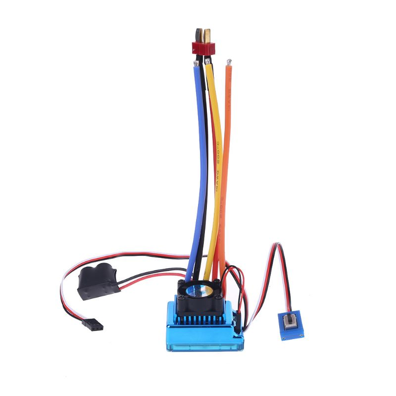 120A Waterproof Sensored Brushless Speed Controller ESC For RC Car Truck Crawler R7RB