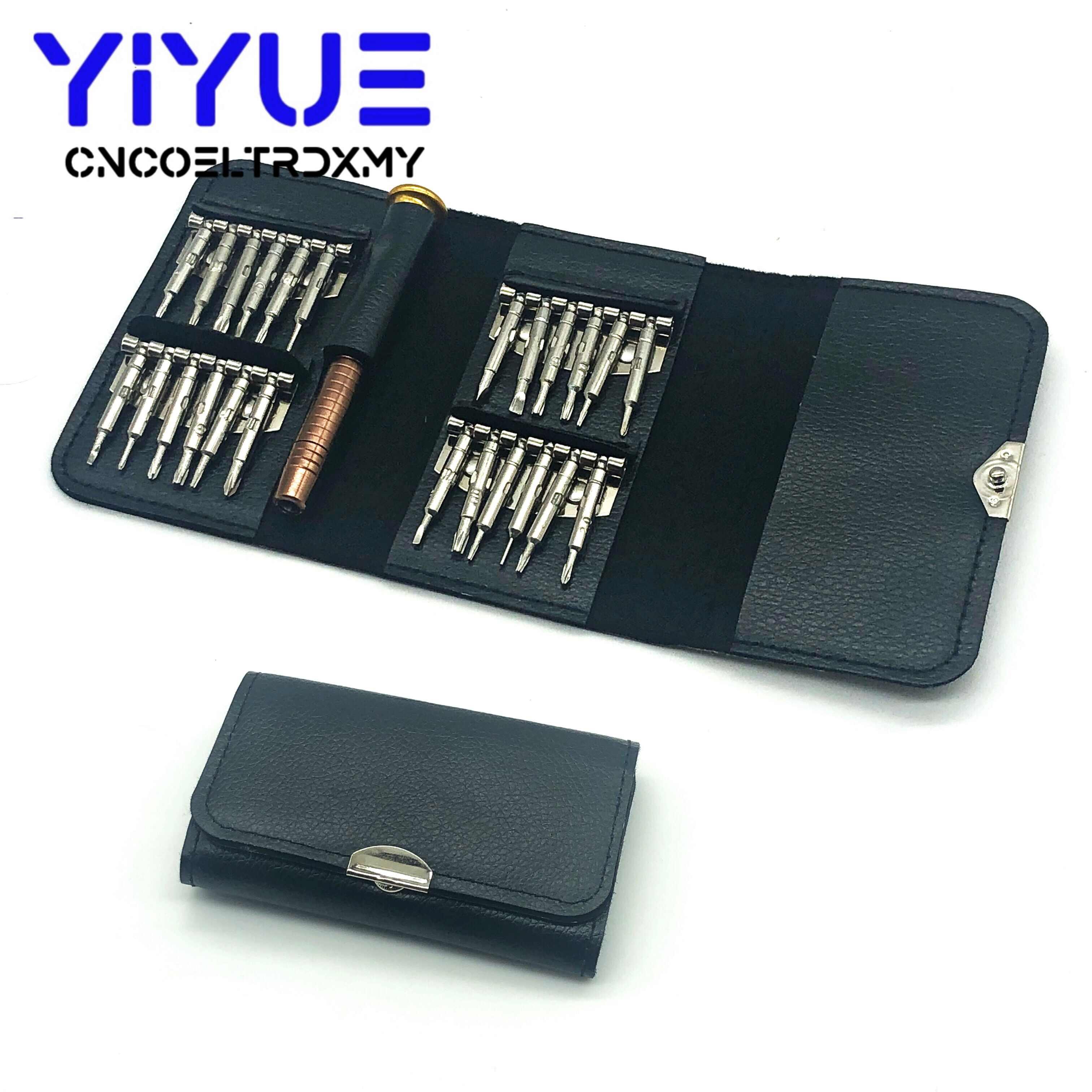 25 In 1 Screwdrivers Kit Portable Repair Tools For Mobile Phone Tablet PC Clock