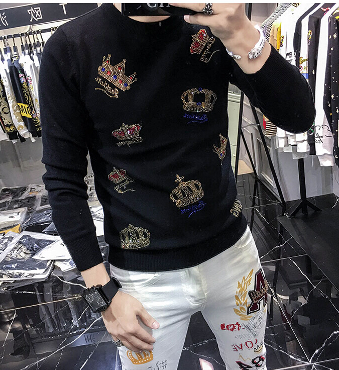 Mens Knitted  Sweaters 2020 Autumn Winter New Pullover Men Casual O-Neck Jumper Sweater Men Pull Homme