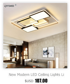 H1a5aac023ad5448ebbd3454838f427df6 Modern Ceiling Lights LED Lamp For Living Room Bedroom Study Room White black color surface mounted Ceiling Lamp Deco AC85-265V
