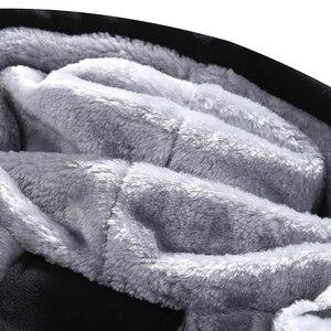 Image 4 - WARM ผู้ชายชุดลำลองหนาขนแกะชุดกีฬาเสื้อ + กางเกง 2 ชิ้นชุด Slim Tracksuit ชาย Hoodies ยี่ห้อเสื้อผ้า